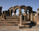 Zvartnots temple Armenia