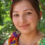 Uighur Girl Kashgar China