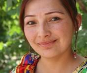Uighur Girl Kashgar China